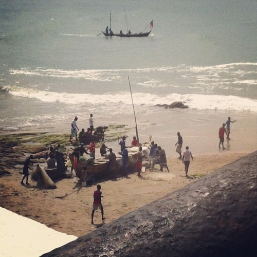 Cape Coast, Ghana (Taken with Instagram)