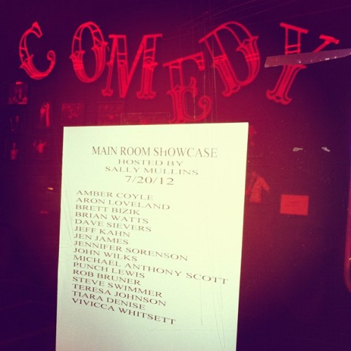 Taken with Instagram at The Comedy Store