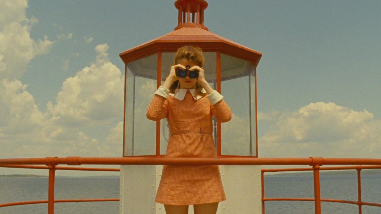 La gloriosa Moonrise Kingdom (Wes Anderson, 2012).
