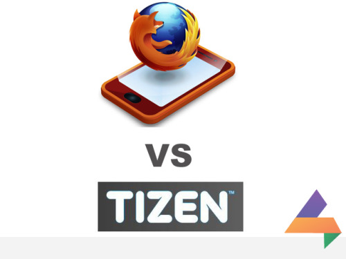Its' Firefox Vs Tizen now! The battle for the best web based mobile OS is on!
