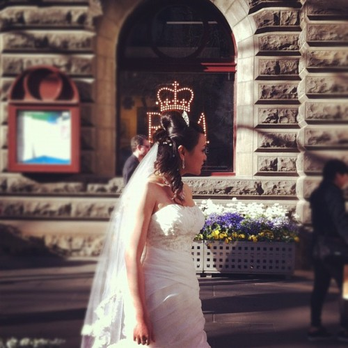 Princess for a day. (Taken with Instagram at Melbourne Town Hall)