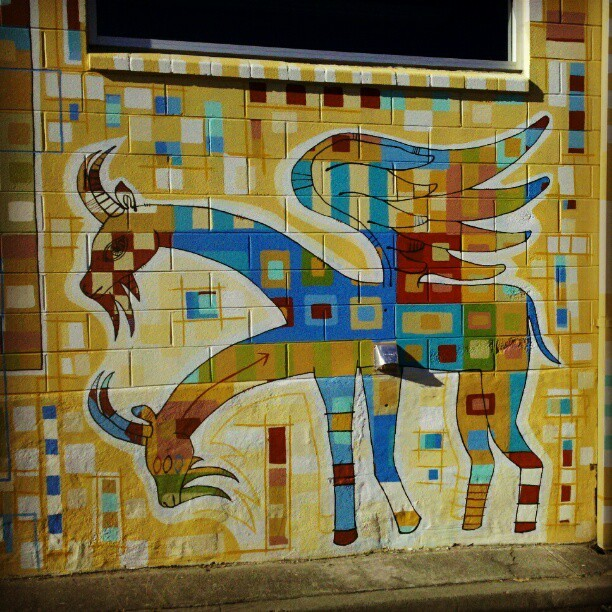 endlesscanvas:  #Haag #Oakland #Mural #BayArea (Taken with Instagram)  (via imgTumble)