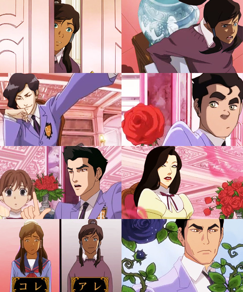conversationparade:     AU MEME → LEGEND OF KORRA + OURAN HIGH SCHOOL HOST CLUB→ @NAUTICALAMITY in which Korra is the new transfer student at Republic City High School, and has to hide her status as the Avatar to help pay off her debt to the host club