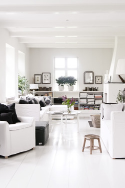 myidealhome:  white home