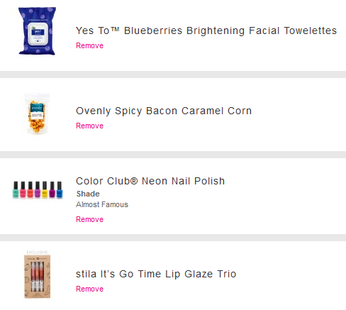 I had $30 Birchbox points…As if I needed any more lipgloss… https://www.birchbox.com?raf=gzx6s