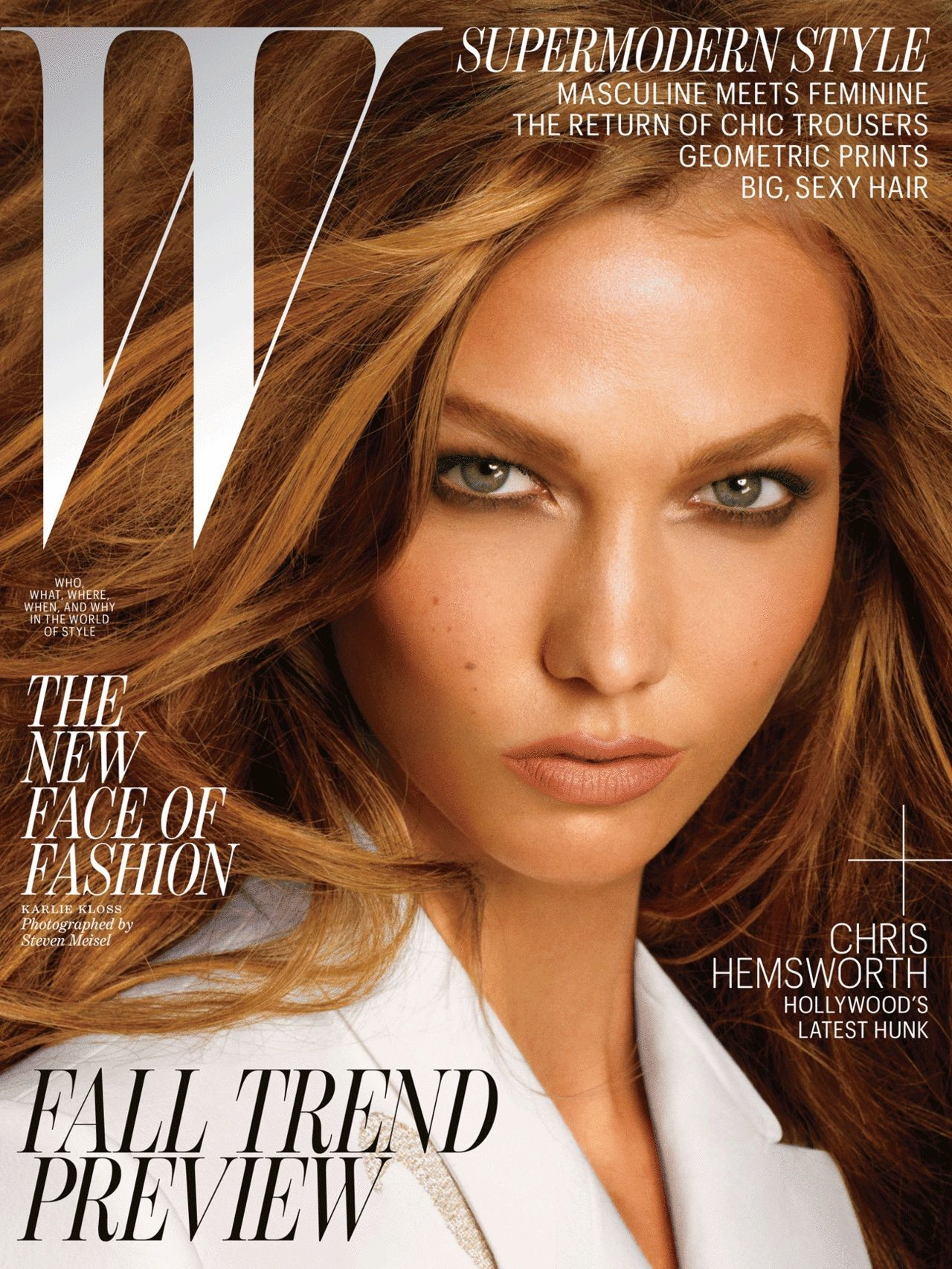 Karlie Kloss by Steven Meisel l W July2012
