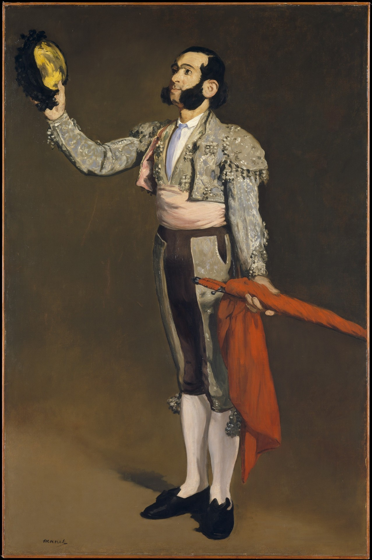 Édouard  Manet - A Matador, 1866-67. Oil on canvas