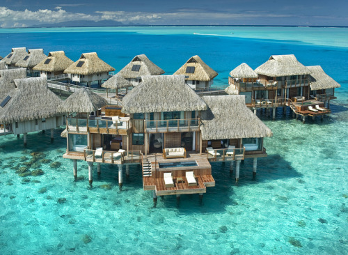 visitheworld:  Hilton Nui Resort & Spa in Bora Bora, French Polynesia (by HiltonWorldwide).