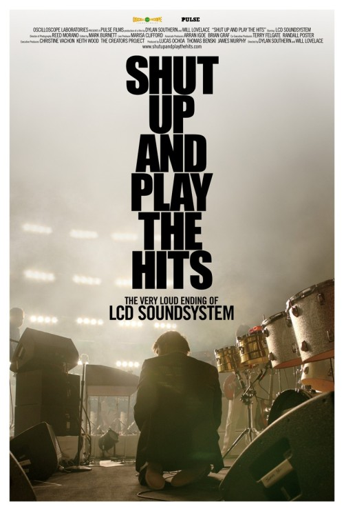 isaac5712:  Official poster for Shut up and Play the Hits (2012), directed by Will Lovelace and Dylan Southern.
