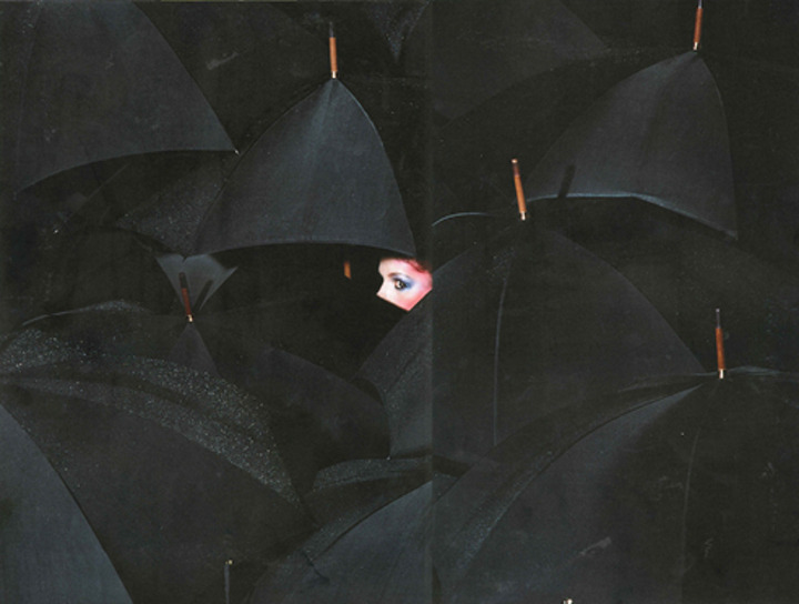 GRAPHIC OF THE DAY: Umbrella Nights by Guy Bourdin