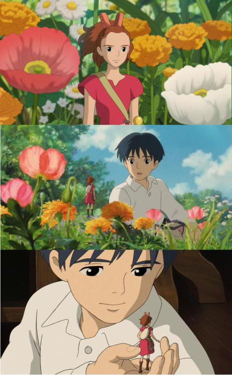 aishaism:  the secret world of arrietty <3  I can't wait for Emma and Lilly to see this.