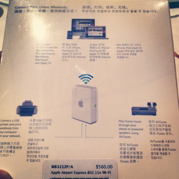 Airport Express Wi-fi #mclinhk_gadget If u like my photos, u can follow me @MCLINHK & let's be my friend. I'll continuously upload some great photos for my followers . @MCLINHK ⬅⬅⬅⬅ @shoutout4u007⬅⬅⬅⬅   #MCLINHK #popularphotos #hkig #hk #hongkong #travel #food #design #architect #music #quote #girl #man #lady  #tagstagram #me #travelingram #love #picoftheday #webstagram #beautiful #iphotoholic #photooftheday #pretty #shoutout #contest #follow #followback #igsg #MCLINHK follow me & follow back.    @shoutout4u007 ➡➡➡➡➡➡➡@MCLINHK⬅⬅⬅⬅ 👍👍👍👏👏👏🎉🎉🎉🎈🎈🎈💿💿💿 🇯🇵🇰🇷🇨🇳🇺🇸🇫🇷🇪🇸🇮🇹🇷🇺🇬🇧🇩🇪🌇🌆🗼🌄🌅  (Taken with Instagram at #mclinhk_gadget