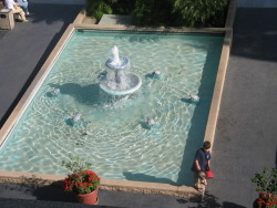 zeavi:  fountain at the hotel in anaheim