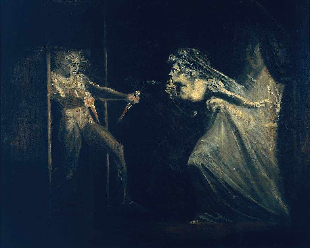 Source: John Henry Fuseli, Lady Macbeth Seizing the Daggers, circa 1812.
