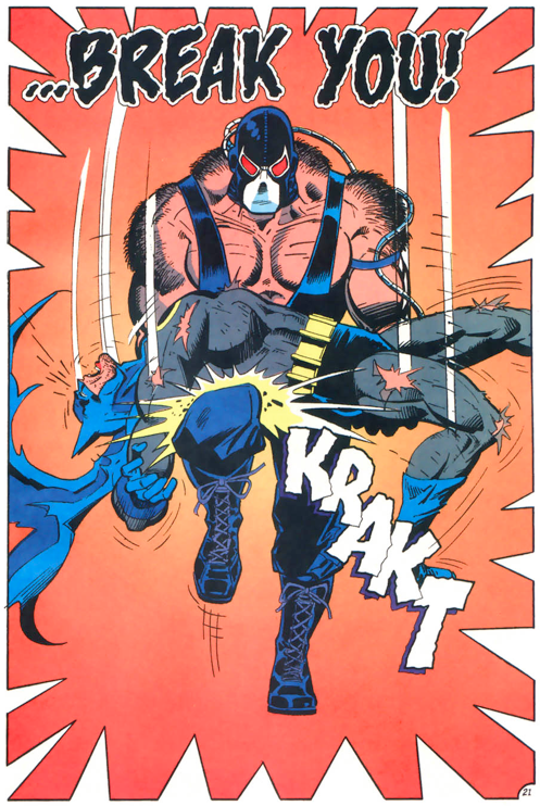 Batman: Knightfall The Broken Bat