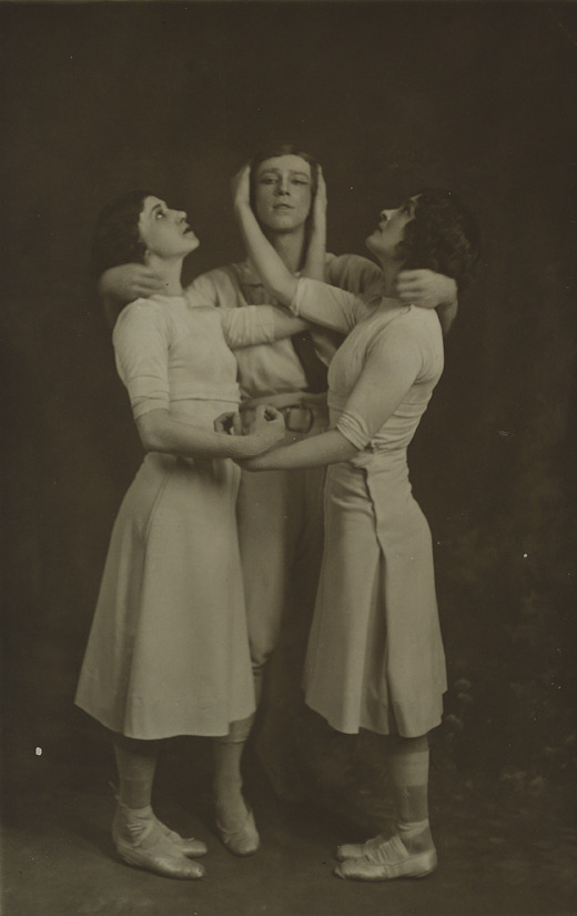 Source: Ludmilla Schollar, Vaslav Nijinsky and Tamara Karsavina in Jeux,  1913.