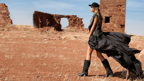 Erin Heatherton: the Frye Company Fall 2011