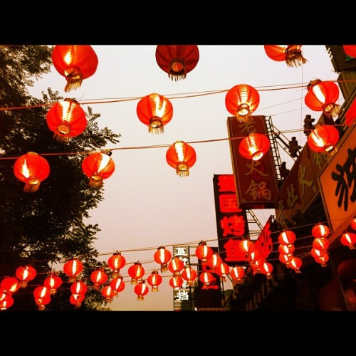 Dongzhimen dajie (Taken with Instagram)