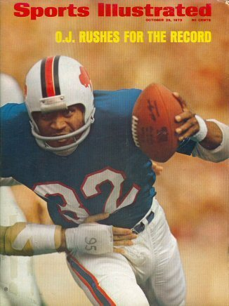 "Sports Illustrated, 1973""O.J. Rushes for the Record"""