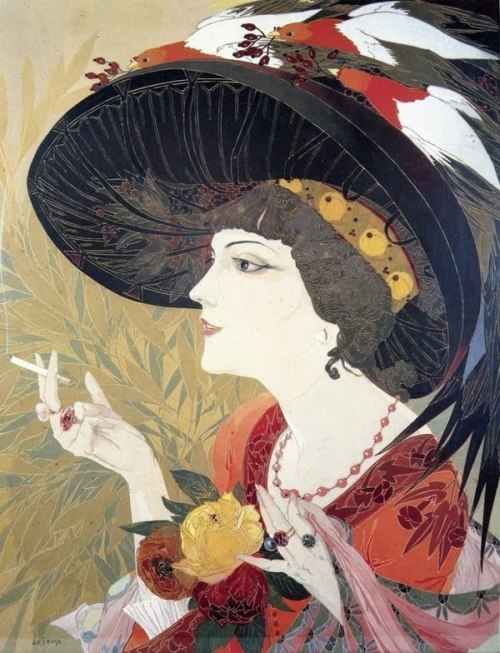 goodnightmorticia:  georges le feure
