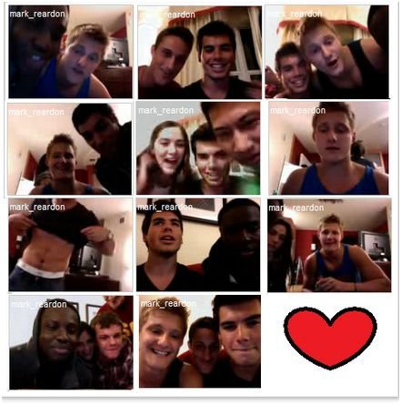 remember when i videochatted with the hunger games cast and mark? goood times……
