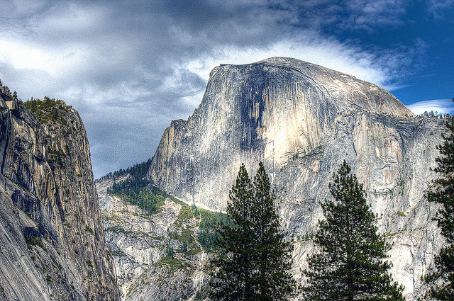 Half Dome on Flickr.