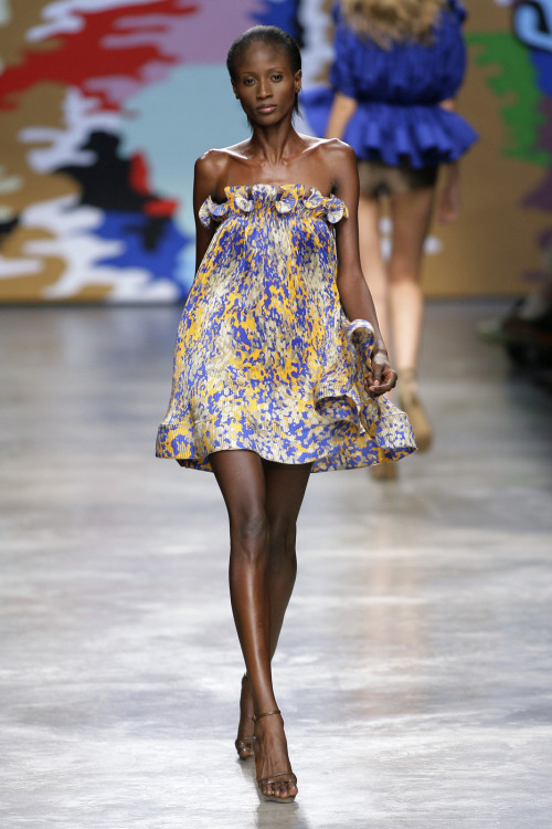 Aminata Niaria at Stella McCartney S/S 2010.