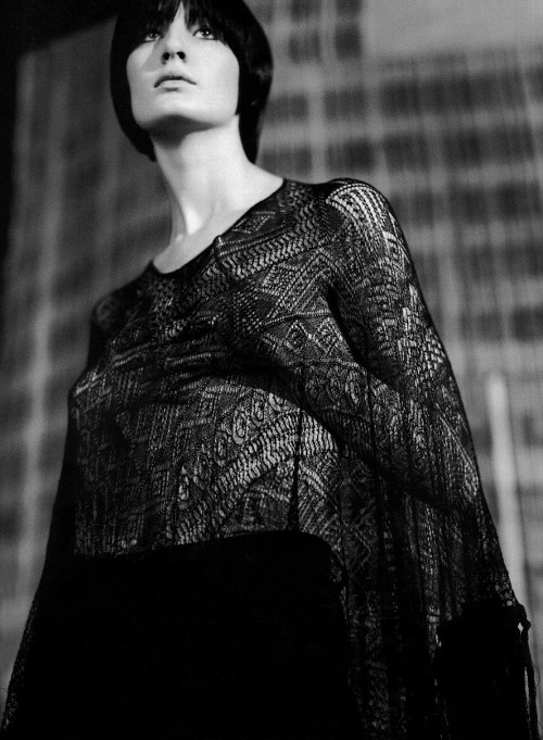 erin o'connor photographed by craig mcdean