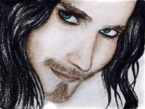 My drawing of Tuomas Holopainen - Nightwish