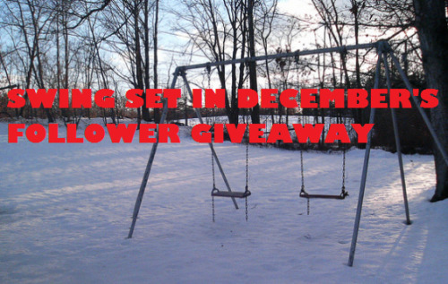 swing-set-in-december:  SWING-SET-IN-DECEMBER'S FOLLOWER GIVEAWAY YOU GUYS PUT UP WITH ME ON A DAILY BASIS. You guys listen to my ramblings about Teen Wolf and my lame fanfiction and dialogues. That deserves rewarding. I just want to give back to my followers (including my wolf pack). Read on and follow directions. THE PRIZE: maple sugar rumble pack (maple syrup, maple candy, maple lollipop and maple sugar fudge) box of cinnamon and brown sugar Pop-Tarts copy of On Fire by Nancy Holder box of Smarties Coffee Crisp bar two 25 g bags of loose leaf tea (TBA when winner tells me what type of tea they like) THE RULES:  Anyone ANYWHERE IN THE WORLD can enter. If there are import laws I can change somethings in the prize pack. You have to follow me to win. This prize is to give back to my amazing followers. Only two reblogs a day allowed.  LIKES DON'T COUNT.  The give away will end on MONDAY JULY 23RD. I'll probably do the drawing late at night on that day, so I'm going to say I'll stop counting reblogs at 9 p.m. EST. The winner may not be announced until I have the chance to count all the entries. The winner will be selected by compiling a spreadsheet or numbered list of all of the reblogs, and I'll use the number generator on random.org to chose a number and find the corresponding username on the list. The first number I draw will win.