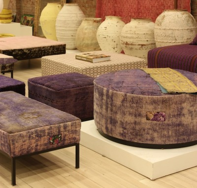 Dornish ottomans and giant planters