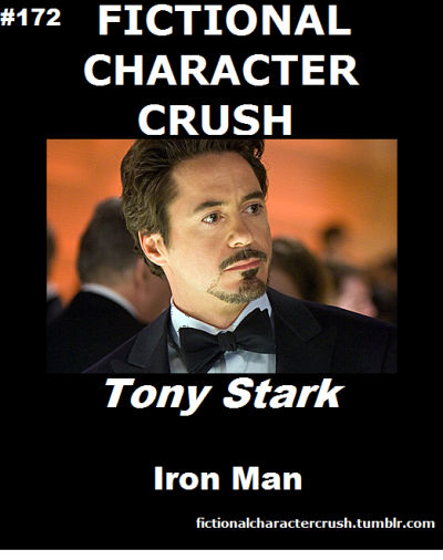 fictionalcharactercrush:  #172 - Tony Stark from Iron Man 21/07/2012