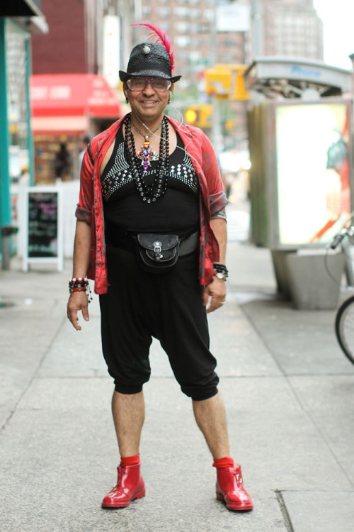 "humansofnewyork:  His business card was emblazoned with: ""Enjoy your life, because it is."""