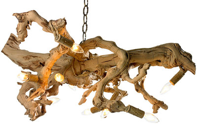 Driftwood Chandelier to match the throne in the Eyrie