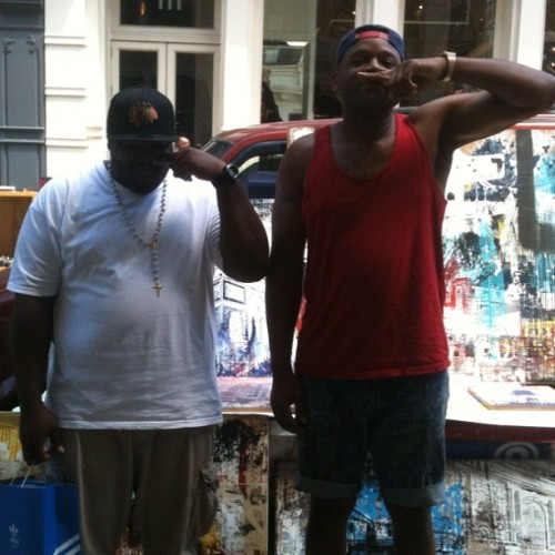 Gucci Mane coke snort out chea with my buddy @carlito624 #soho #yeeeeeaaaaa (Taken with Instagram)