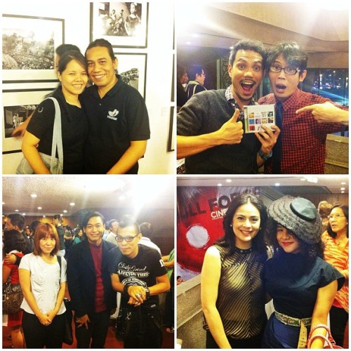 @angnawawala photoset #3: Actors, Musicians & Designers! #lastnight #premiere #indie #cinemalaya #film (Taken with Instagram at Cultural Center of the Philippines)