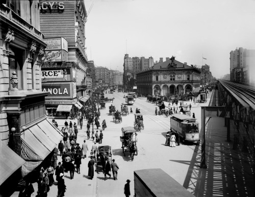 romantisme1812:  Herald Square, New York (1913).