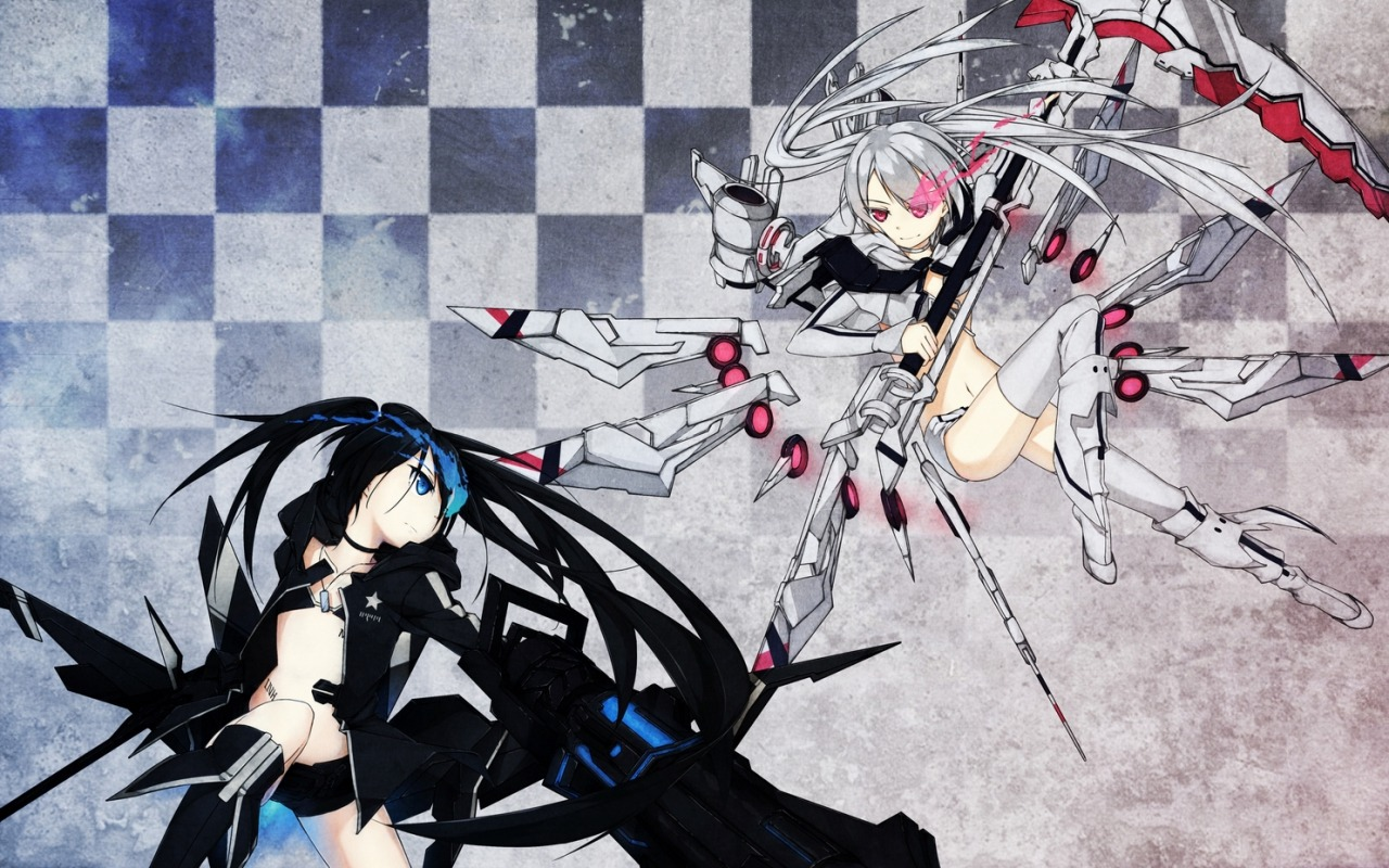 Black rock and White rock shooter