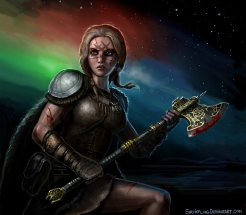 The Northern Lights by *SirTiefling