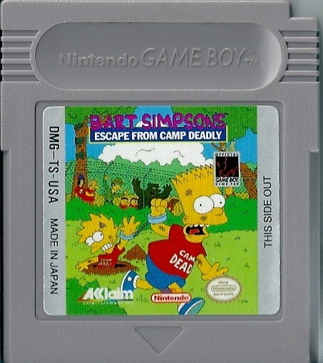 Bart Simpson's Escape from Camp Deadly (1991)