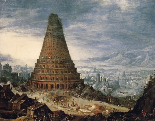 mythologyofblue:  Tower of Babel