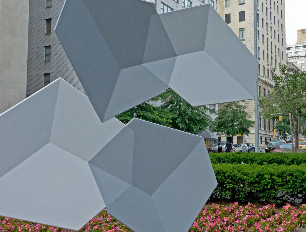 Sculpture….at Park Ave., New York.