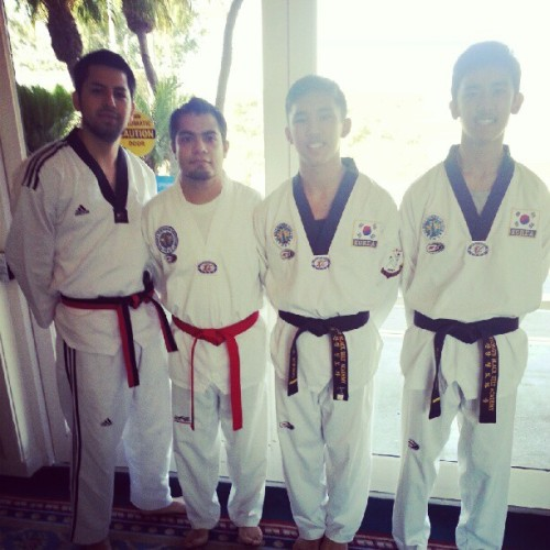My 4 competitors. :) (Taken with Instagram at Town and Country Resort and Convention Center)