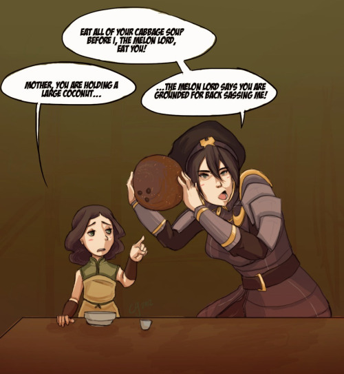 novaofdarkness:  I could imagine Toph doing this..