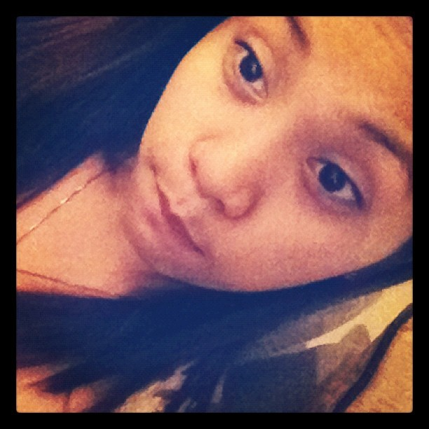 Cant sleeeeeeepppppo… :( (Taken with Instagram)
