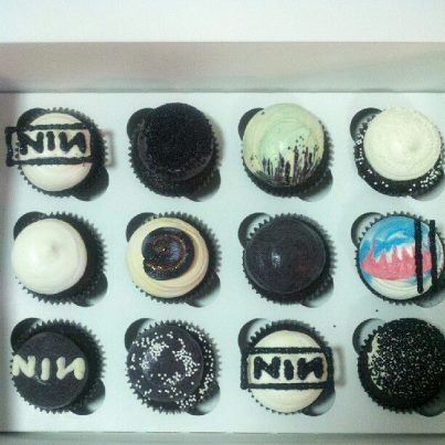 NIN Cupcakes by EVIL TREATS