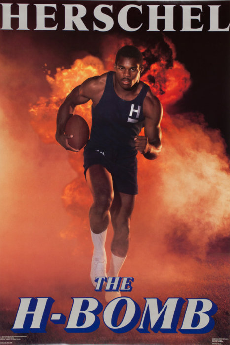 Former NFL star running back Herschel Walker is…. The H-BOMB!