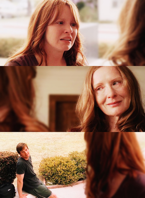 CLAIRE: Thank you for everything. And thank you for giving me life.RUTH: You gave me life.CLAIRE: Oh, God, I don't want to go.NATE: Yes, you do!