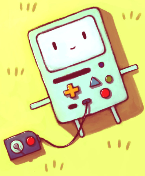 i wish i had a beemo sometimes.. srsly, watch adventure time, one of the most awesome cartoon series ever. a few episodes are a lil bit meh, but the last 3 episodes  were totally awesome.. and the rest of them toooooooo.