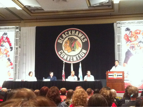 Chicago's Most Wanted Panel: Carcillo, Shaw, Mayers, Sharp #BHC2012